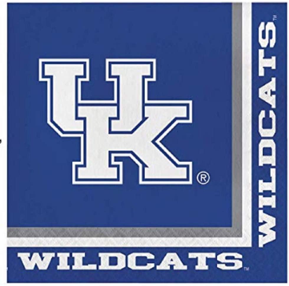 Kentucky Wildcats Lunch Napkins, 60 Count