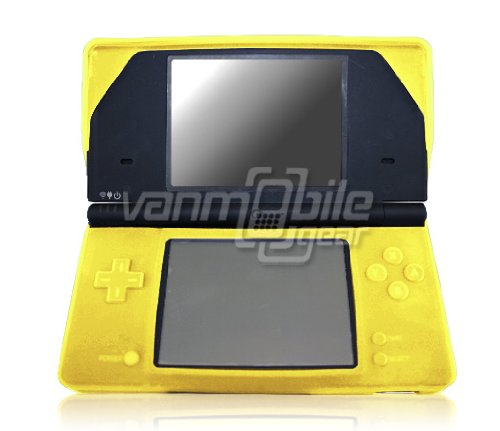 VMG For Nintendo DSi Portable Handheld Game System Soft Gel Rubber Silicone Skin Case Cover - Yellow *** CLOSEOUT PRICE ***