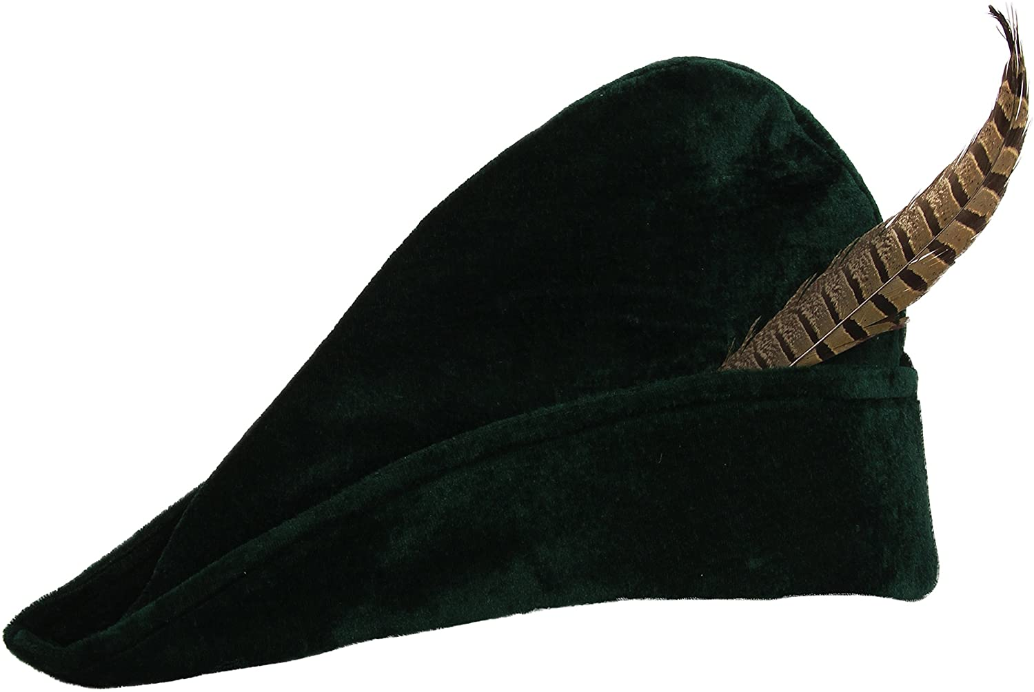 widmann Prince of Thieves with Feather Party Theme Hats Caps & Headwear for Fancy Dress Costumes Accessory