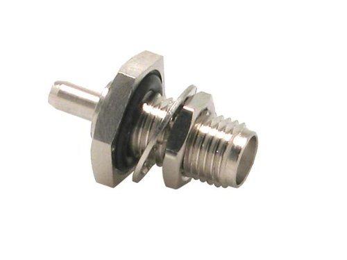 RF Connectors / Coaxial Connectors RPSMA Fml Blkhd RMnt Crimp, O-Ring, RG-58 (1 piece)