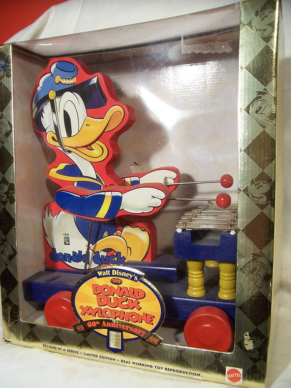 Walt Disney's #185 Donald Duck Xylophone 60th Anniversary 1938-1998