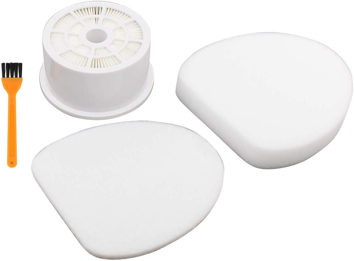 ApplianPar Foam and Felt Filter Hepa for Shark NV400 UV420 XHF400 Vacuum Cleaner with Cleaning Bursh Kit