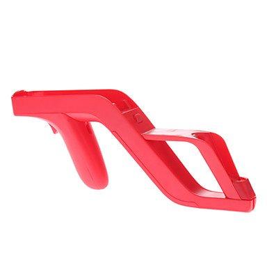 NEW-Zapper Gun for Nintendo Wii Remote (Red)