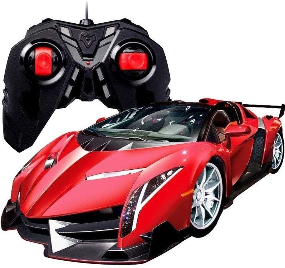 Xuess 4WD RC Cars 1:16 High Speed Sports Car Electronic Sports Race Model Drifting Radio Controlled Rechargeable Collection Educational Children's Toys