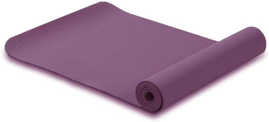 XinQing Yoga Mat, Home Mat, Rubber Non-Slip Portable Beginner Sports Training Mat, 183x61x6mm (Color : C)
