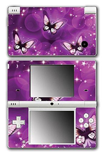 Purple Butterflies Beautiful Art Design Video Game Vinyl Decal Skin Sticker Cover for Nintendo DSi System