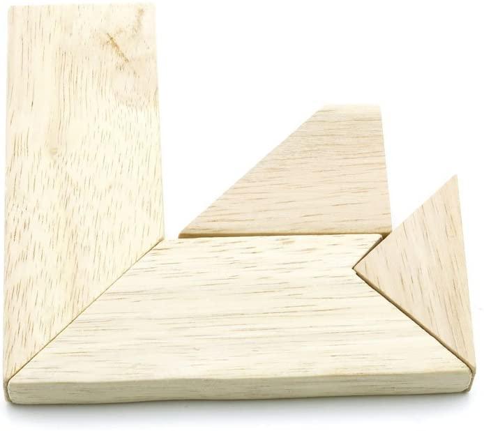 1 pcs Puzzle Game 01502 Letter T Tangram Sequential Puzzles Toys Jouets