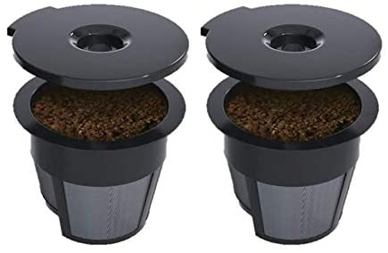 CAFÉ BREW COLLECTION Just a Cup 2-Pack Reusable Single Serve K-Cup for Keurig Brewers