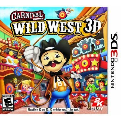 Exclusive Carnival Games: Wild West 3DS By Take-Two