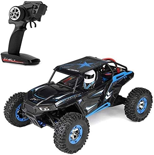 Xuess 2.4Ghz 1/12 Simulation Model Alloy Body Shell 4WD Off-Road Vehicle Electric RC Car High Speed Racing Big Foot Mountaineering Car Children Gifts