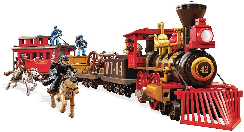 Construction MEGA CONSTRUX PRO Builder Train Heist