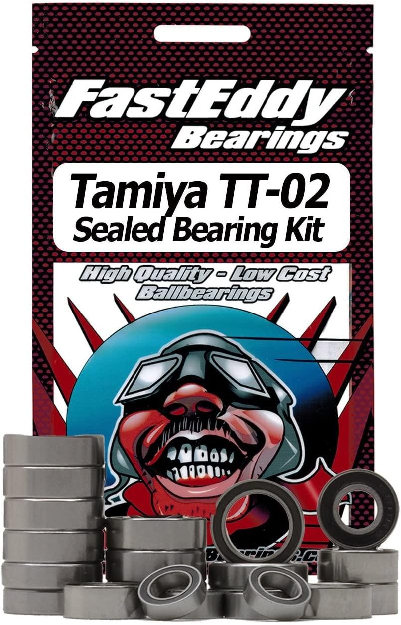 Tamiya TT-02 Chassis Rubber Sealed Bearing Kit