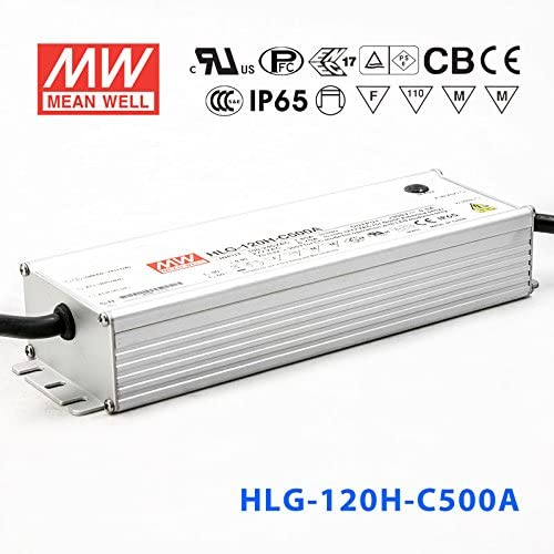 Meanwell HLG-120H-C500A Power Supply 150W 500mA