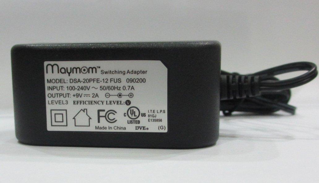 Maymom AC adapter for Medela's Pump In Style Advanced, Traveler, or Companion; Medela Power Transformer Part # 9207010, 9V Model; Safe, Light, Compact & Efficient