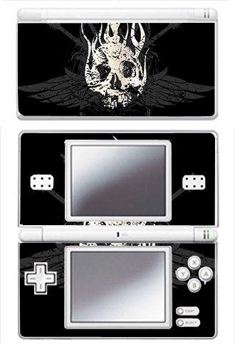 Crossed Guitar Skull Skin for Nintendo DS Lite Console