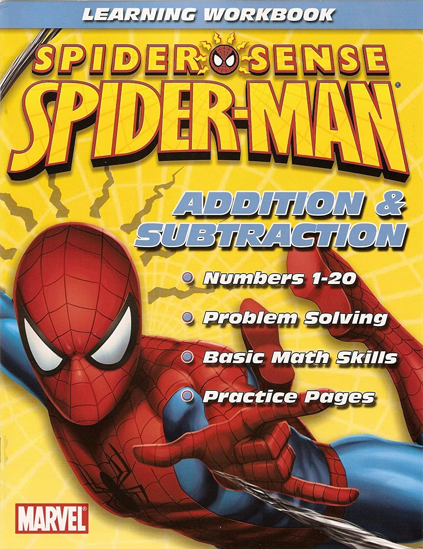 Spider-Man Workbook ~ Addition& Subtraction by Marvel