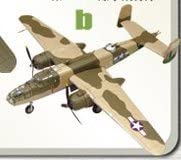 Dubblebla 4B North American B-25B/C Mitchell US Army Air Corps 1:144 F-Toys 1/144 Twin-Engine Vol.3