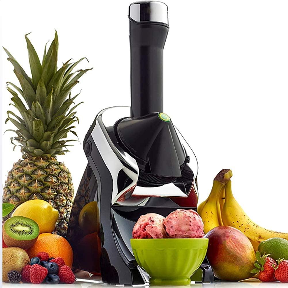 ALY Ice Cream Maker Healthy Dessert Fruit Soft Serve Maker Creates Fast Easy Delicious Dairy Vegan Alternatives
