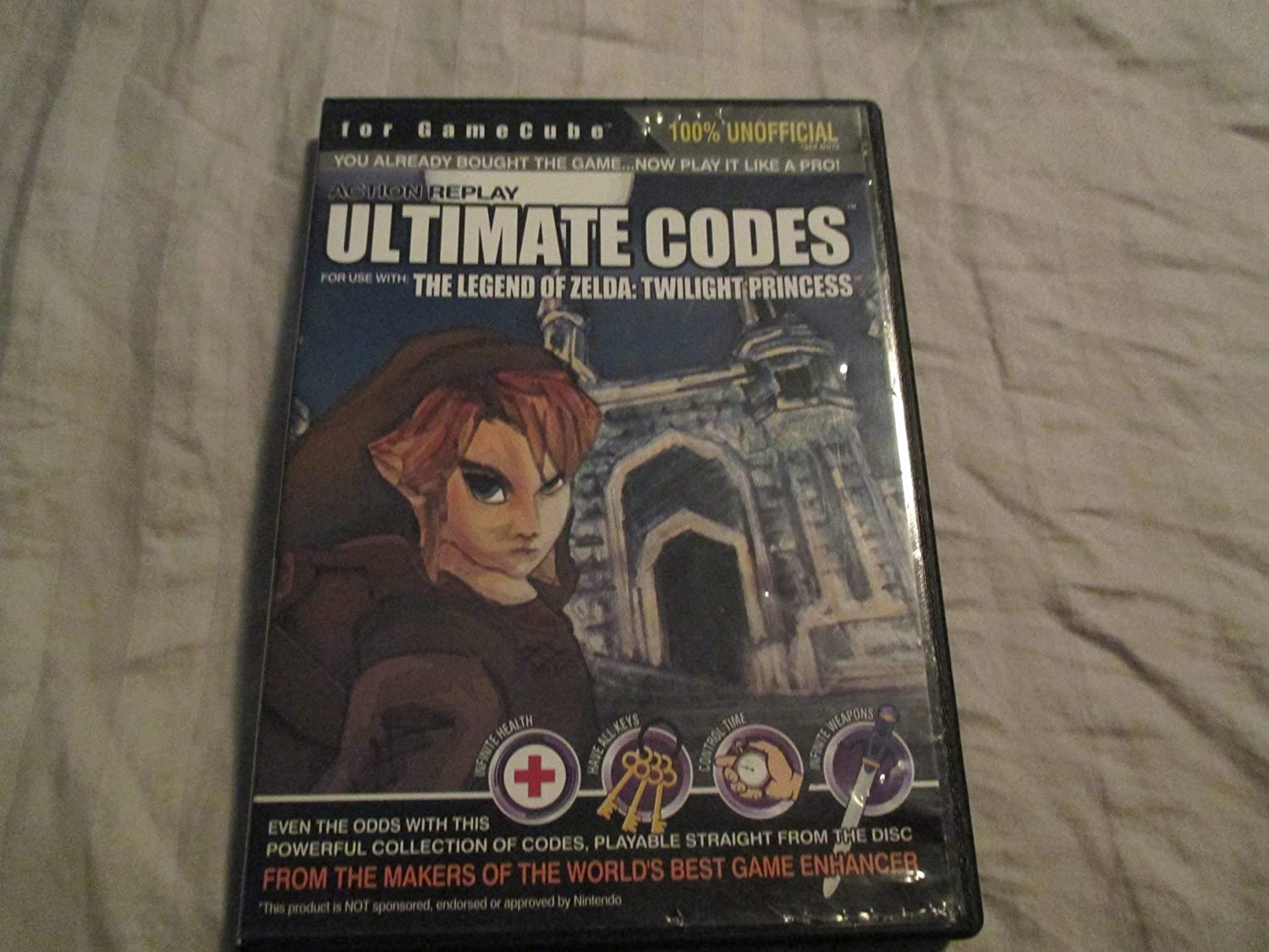 Action Replay Ultimate Codes The Legend Of Zelda: Twilight Princess