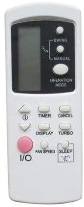 Calvas Remote Control For Galanz GZ01-BEJ0-000 AUS-12HR53C130L6/D17 AUS-18HR53C220D6/D17 Air Conditioner