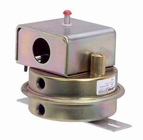 ANTUNES CONTROLS 8621204002 Pressure Switch AIR Manual Reset .17-6IN WC 1/4IN