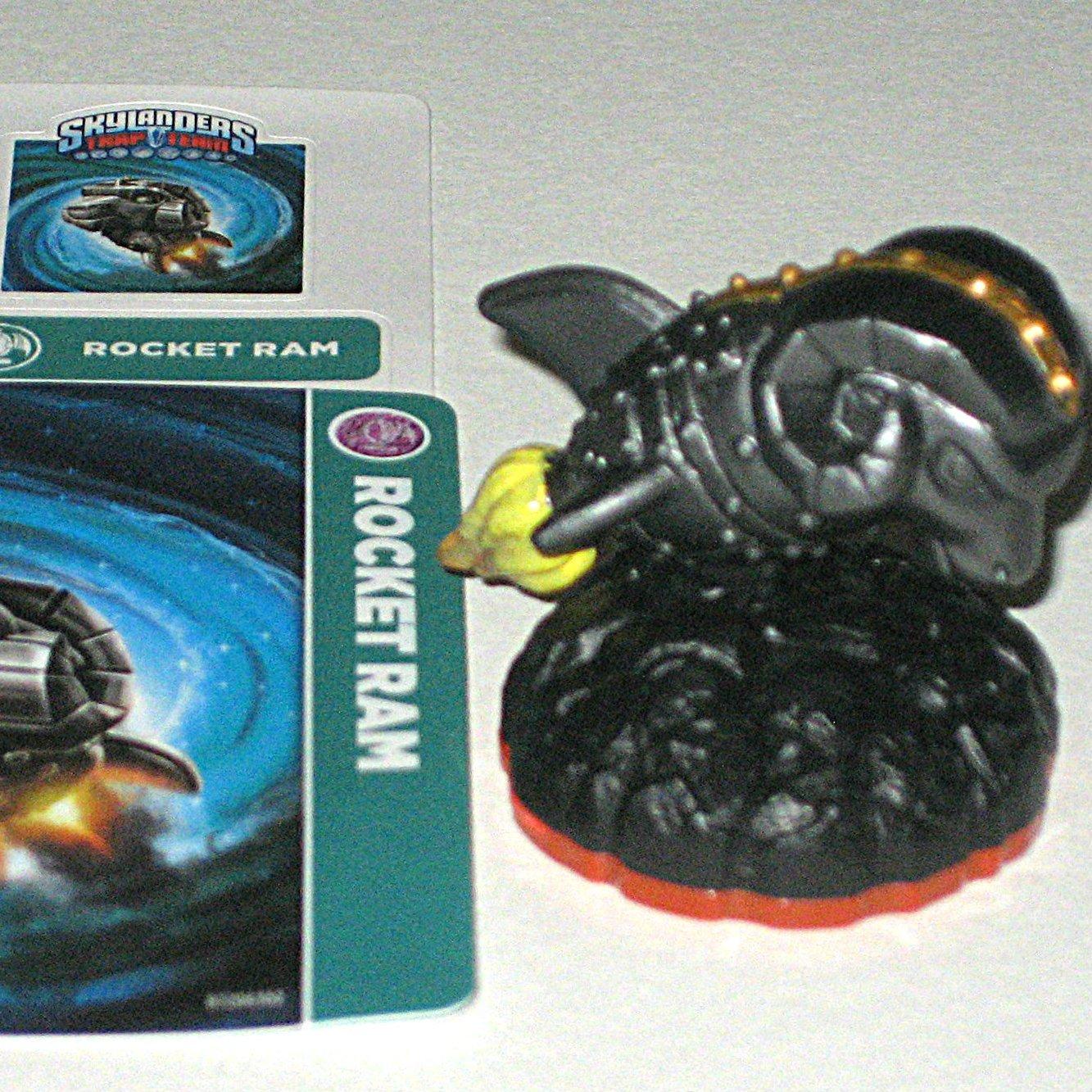 Rocket Ram Skylanders Trap Team Figure (includes card and code, no retail package)