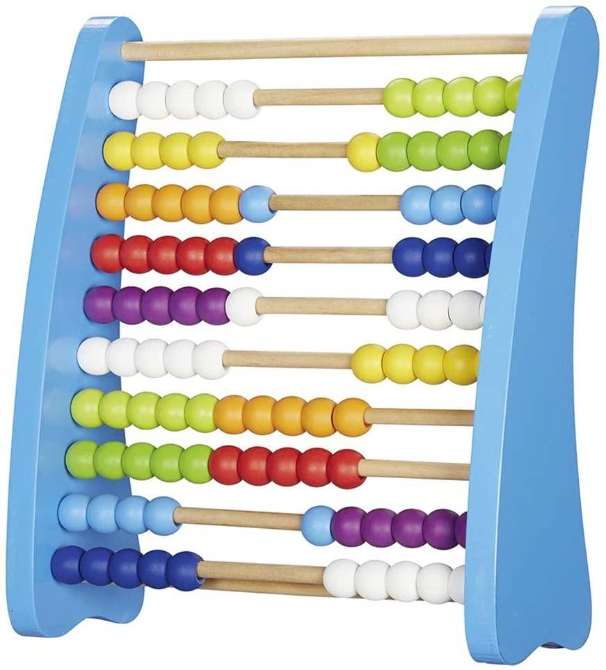 Goki Wooden Calculator Playset, Blue
