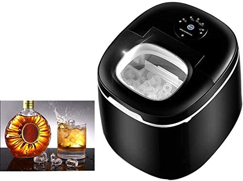 Ice Maker Countertop Machine,Portable Small 2.5L Water Tank,55 Pounds in 24 Hours, 9 Ice Cubes Ready in 6 Minutes, for Home, Party
