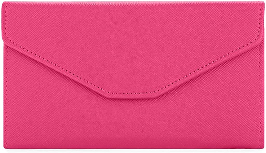 Women's Long Wallet Card Package,BOLUBILUY Solid Color Simple Stylish Hasp Clutch Purse Formal Bag Card Package Phone