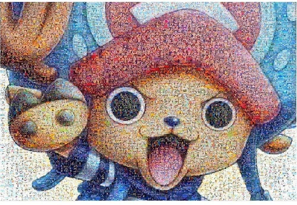 1000-piece of Mosaic Puzzles, Suitable for Adults, Full of Challenges and Creativity H-2020-5-23 (Color : D)