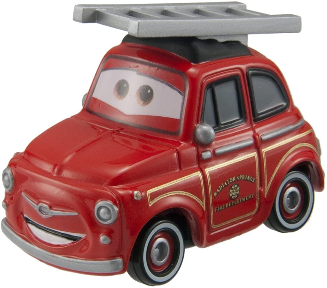 Takara Tomy Tomica Cars Rescue Go Go Luigi (Fire Engine Type)