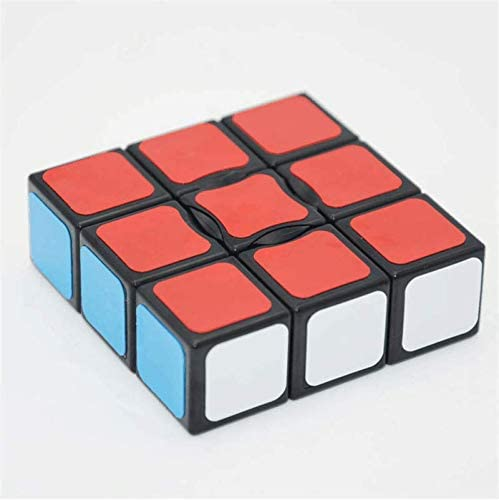 LeFun 1x3x3 Magic Cube Puzzle Cube Educational Toy for Children Adults Black