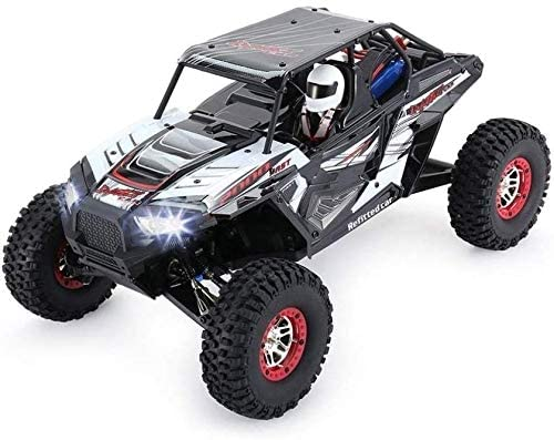 Xuess Brushed Motor Desert Truck Off-Road Auto with LED Light 1/10 Rock Climbing Crawler RC Car Remote Control Truck Kids Toy Educational Toys
