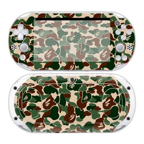CSBC Skins Sony PS Vita 2000 Design Foils Faceplate Set - Camouflage Design