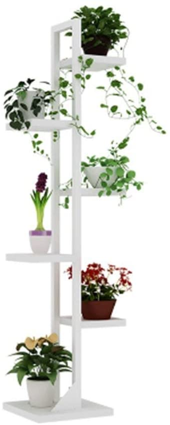 PLLP Home Plant Stand,Multi-Layer Flower Rack Tier Iron Flower Stand/Flower Racks for Living Room Alcony Edroom and Indoor/Outdoor Metal Iron Corner Floor Standing Flowerpot Display Stand,a
