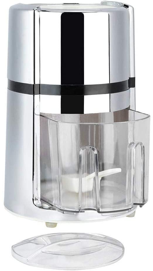 KSTE KSTE Portable Hand Crank Manual Ice Crusher Round Household Shaver Snow Cone Maker Kitchen Tool