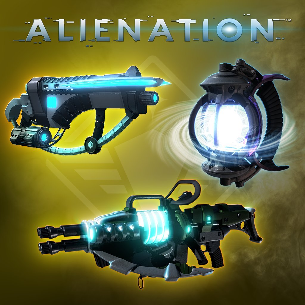 Alienation Weapons Supply Pack - PS4 [Digital Code]