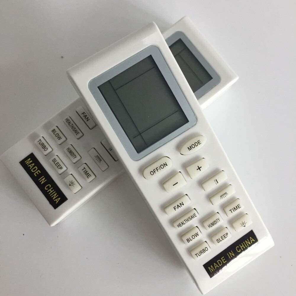 Calvas Universal Remote Control For GREE GWH21MB-K1NNA4A GWH12KF-K3DNA5A Air Conditioner
