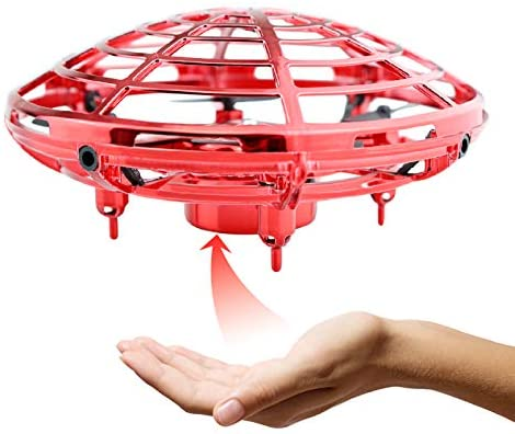 Hand Operated Drone for Kids or Adults, Hands-Free Mini Drone with 3D Flips, Easy Indoor Small UFO Flying Ball, Drone Toys for Boys and Girls