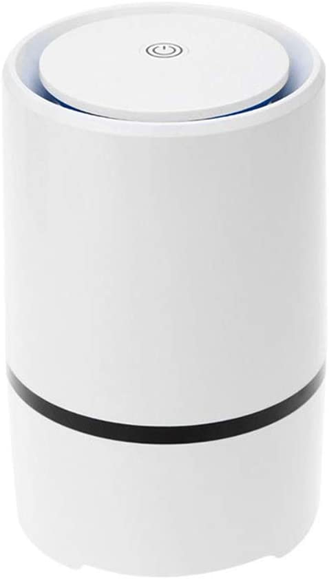 Wxnnx Air Purifier for Home with True HEPA Filters, Desktop USB Air Cleaner, Air Ionizer Freshener for Cigarette Smoke, Allergies