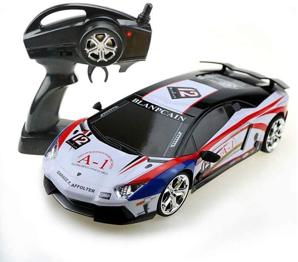 Xuess RC Car Four-Wheels Drive Remote Control Drift Sports Car 2.4Ghz Wireless Remote Control Car Anti-Collision Electric Toy Car