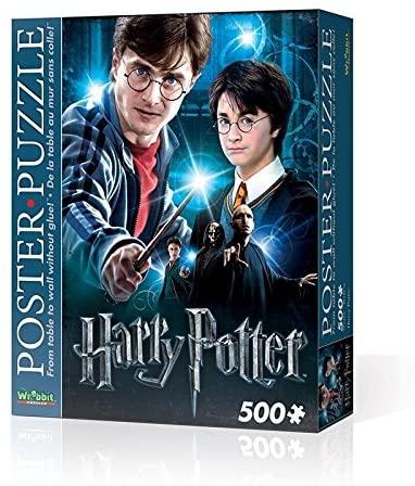 WREBBIT 3D Harry Potter Poster Puzzle (500 Pieces)