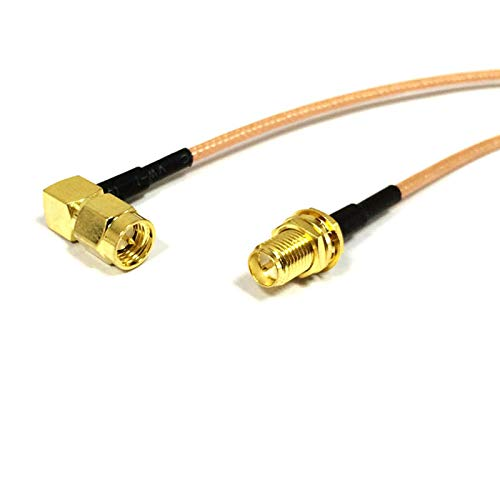 RF SMA Male Right Angle Switch RP SMA Female Jack Pigtail Cable RG316 15cm