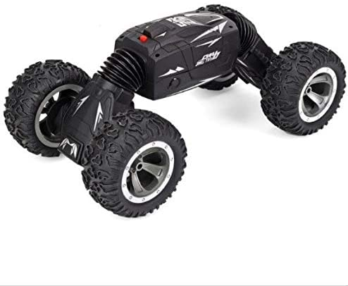 Xuess RC Turn Over Stunt All Terrain Off Road Cars Kids Toys Radio Remote Control Climbing Twisted Car Climbing Truck Racing Vehicle Electric Fast Race Buggy Educational Toys (Color : Sliver)