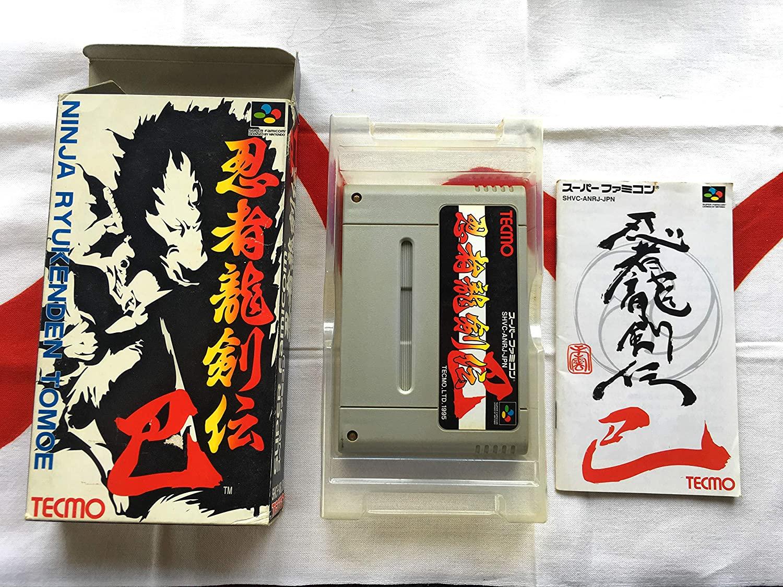 Nintendo Super Famicom SNES Japan SFC Ninja Ryukenden Tomoe Gaiden