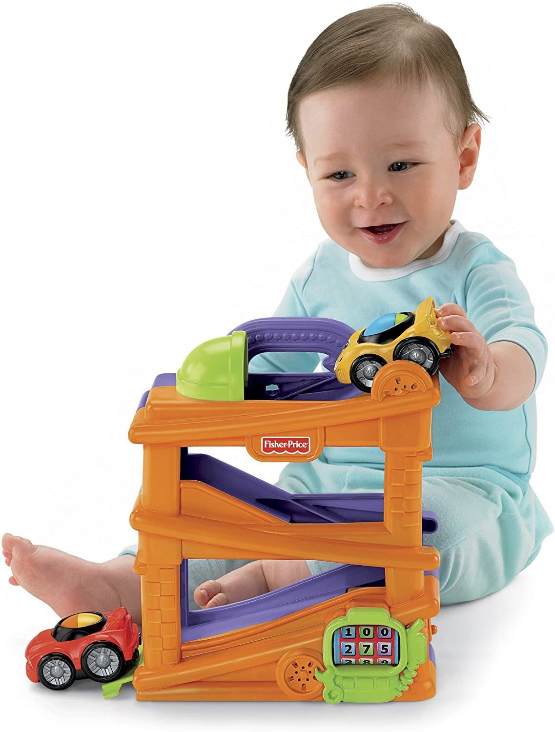 Fisher-Price Lil8217; Zoomers Chase8217;n Race Ramps