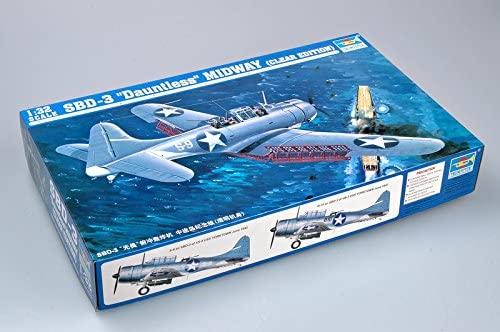Trumpeter 1/32 SBD3 Dauntless Midway US Navy Aircraft