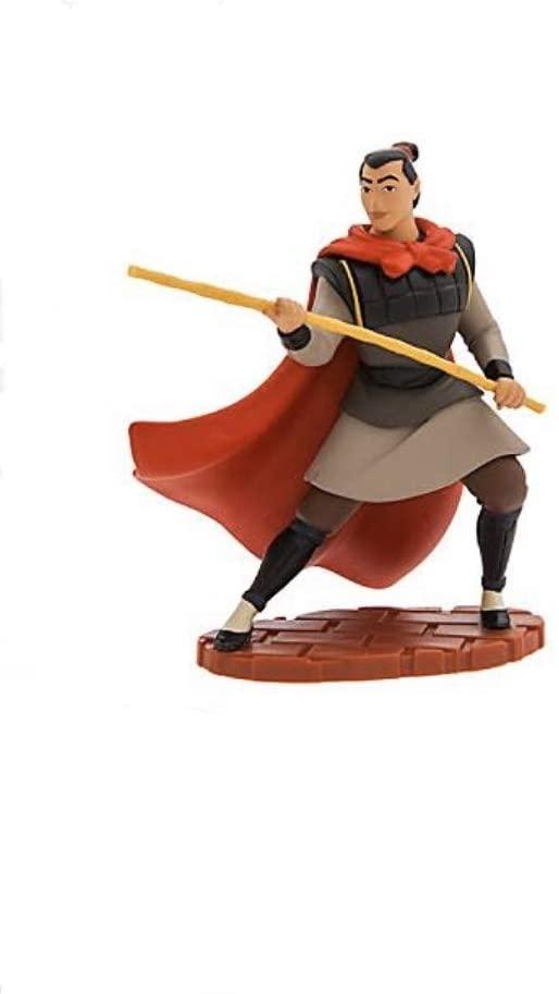 "Disney Mulan Li Shang 4"" Lose Pvc Figure Figurine Cake Topper Toy"