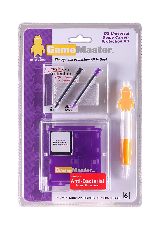 GameMaster Nintendo DS Universal Game Carrier Protection Kit (Purple)