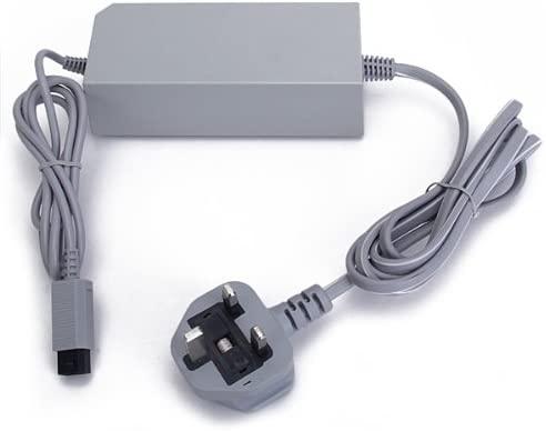 AC Power Adapter with UK Plug for Nintendo Wii - Worldwide